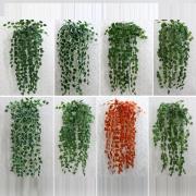 Artificial Ivy Leaf Plant Rattan Plastic Decorative Flower