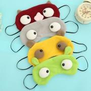 Cute Cartoon Monster Pattern Eyeshade Sleeping Goggles