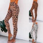 Fashion High Waist Leopard Printed Stretch Leggings