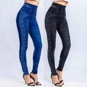 Fashion High Waist Printed Slim Fit Leggings