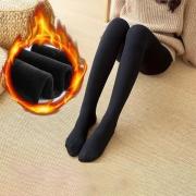 Fashion High Waist Plush Lining Stockings Pantyhose
