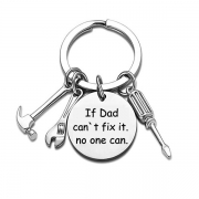 Chic Style Screwdriver Wrench Pendant Father's Day Key Chain