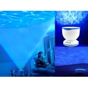 Ocean Wave Light Projector Speaker