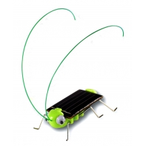 Adorable Solar Power Robot Insect Bug Locust Grasshopper Toy kid