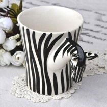 Fashion Zebra  Handmade Coffee Mug