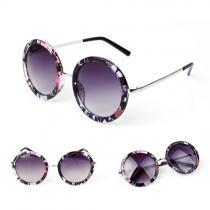 Vintage Round Frame Sunglasses