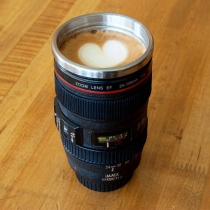 Creative Camera Lens Stainless Steel Coffee Mug