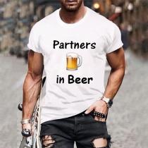 Partners in Beer Bestie Shirt for Men