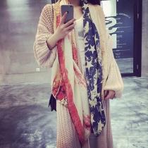 Fashion Tie-dye Printed Shawl Scarves