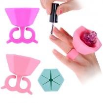 Creative Style Wearable Nail Polish Bottle Rack