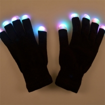 Creative Colorful LED Lighting Gloves