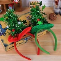 Creative Style Christmas Tree Shaped Hairband