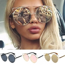 Fashion Round Frame Sunglasses