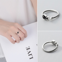 Cute Style Fish Shaped Open Ring
