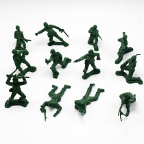 Retro Style Soldiers Model Toys 12 pcs/Set