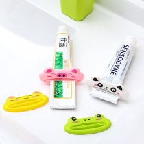 Cute Cartoon Animal Shape Manual Toothpaste Squeezer
