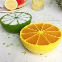 Creative Style Lemon-shape Silicone Ice Mold