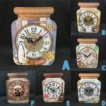 Creative Style Drift Bottle Shaped Wall Clock