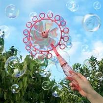 Playful Style Windmill Bubble Machine Children Toy
