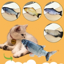 USB Electric Moving Fish Cat Toy