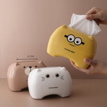 Cute Cartoon Pattern Multifunctional Tissue Box