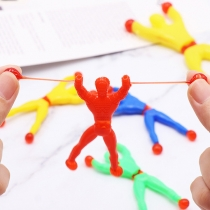 Colorful Sticky Wall Climbers Wall-climbing Figures Spiderman