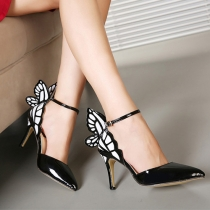 Sweet Bowknot Pointed Toe Stiletto Shoes