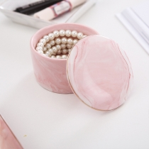 Fashion Imitation Ceramic Accessories Storage Box