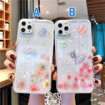 Fresh Style Flower Pattern TPU Phone Case for iPhone