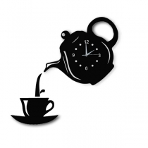 Creative Style Teapot Shaped Wall Clock