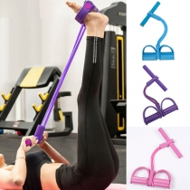 Resistance Bands for Home Gym Yoga Workout Multifunction Arm Leg Exercise Abdominal Training