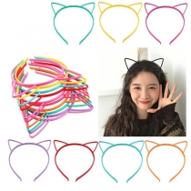 Cute Style Cat's Ear Shaped Hairband 3 pcs/Set