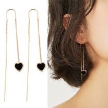 Fashion Hear Pendant Ear-line