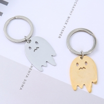 Chic Style Hollow Out Ghost Pendant Key Chain