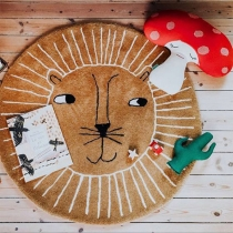Cute Cartoon Pattern Round-shape Ground Mat