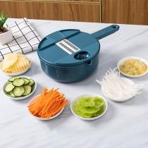 12 In 1 Multifunctional Shredder Kitchen Tool Vegetable Slicer Cutter
