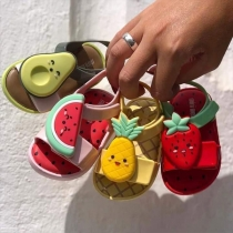 Cute Style Anti-slip Open-toe Fruit-shape Baby Toddler Sandals