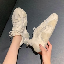 Clunky Sneaker Casual Sneakers Thick Soles  Thick Soles Sneakers