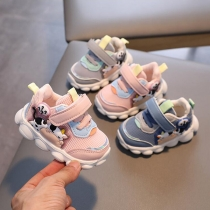 Baby soft soled toddler shoes mesh breathable sneakers