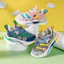 Cute Cartoon Animal Pattern Anti-slip Breathable Baby Toddler Sneakers