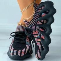 Sneakers knit Shoes Soft Sole Coconut Shoes